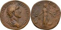 Italien AE-Sesterz ANTONINUS PIUS 138-161.n.Chr. AE-Sesterz ANTONINUS PIUS 138-161. n. Chr. Sesterz, 140-144, Rom.  (ANNONA-AVG)