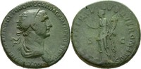 Italien/Rom Dupondius 98-117 n.Chr. SS/schöne grüne Glanzpatina Traian 1... 82,00 EUR  plus verzending