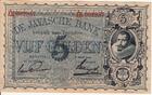 5 Gulden (MEV128F) 1924 Netherlands  Indie...