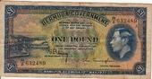 1 Pound 1937 Bermuda GEORGE VI P.11b ss