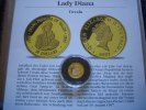 Tuvalu 20 Dollars 1997 Proof Lady Diana 1/25 Unze Gold  59,00 EUR