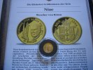 25 Dollars 1996 Niue Wernher von Braun  1/25 Unze Gold  Proof  59,00 EUR  zzgl. 5,00 EUR Versand