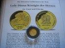 1000 Dobras 1997 St.Thome Lady Diana  1/25 Unze Gold  Proof  59,00 EUR  zzgl. 5,00 EUR Versand