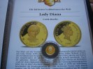 Cook Islands 5 Dollars 1997 Proof Lady Diana  1/25 Unze Gold  59,00 EUR