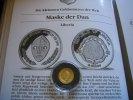 10 Dollars 2000 Liberia Maske der Dan 1/25 Unze Gold  Proof  59,00 EUR  zzgl. 5,00 EUR Versand