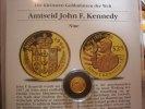 25 Dollars 1994 Niue Kenedy 1/25 Unze Gold. Die kleinsten Goldmünzen de... 59,00 EUR  zzgl. 5,00 EUR Versand
