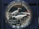 Samoa 10 Dollars 1992 Proof Endangered Wildlife Borstenbrachvogel 30,05 EUR