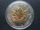 5 Dollar 2010 Kanada 5 Dollar Maple Leaf 2010 Gilded BU gilded  34,95 EUR