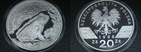 20 Zlotych 1998 Polen Ropucha Paskowka Kröte Proof  79,00 EUR  zzgl. 5,00 EUR Versand