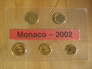 3,80 Euro 2002 Monaco Monaco KMS 2002 10 Cent bis 2 Euro unc. prägefris... 34,95 EUR  zzgl. 3,95 EUR Versand