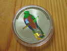 5 Francs 2004 Congo Wild Life Protection Prismen Hologramm Vogel Proof  14,95 EUR  zzgl. 3,95 EUR Versand