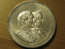 2 Thaler  3 1/2 Gulden 1872 B Sachsen Doppelthaler Goldene Hochzeit Joh... 249,95 EUR  zzgl. 7,00 EUR Versand