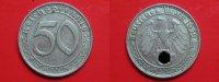 50 Reichspfennig 1939 D III.Reich 50 Rpf. Nickel ss-vz  44,95 EUR