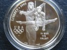 1 Dollar 1996 USA Olympia Atlanta 1 Dollar Seilturner PP Proof  34,50 EUR  zzgl. 3,95 EUR Versand