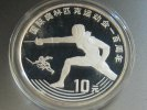 China 10 Yuan 1993 PP Proof Olympia Fechten 33,90 EUR