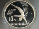 China 10 Yuan 1990 PP Proof - Olympia Turm...