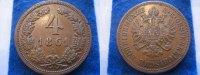 4 Kreuzer 1861 A Österreich Österreich 4 Kreuzer 1861 A vz  39,00 EUR  zzgl. 3,95 EUR Versand