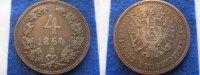 4 Kreuzer 1864 B Österreich Österreich 4 Kreuzer 1864 B ss-vz  29,00 EUR  zzgl. 3,95 EUR Versand