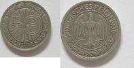 50 Reichspfennig 1936 J Weimarer Republik 50 Pfennig 1936 J ss  39,95 EUR  zzgl. 3,95 EUR Versand