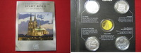 4 x Medaillen o.J. Stadt Köln 4 Medaillen Stadt Köln im Blister BU unc.  31,95 EUR  zzgl. 3,95 EUR Versand