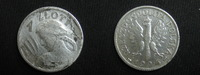 1 Zloty 1924 Polen 1 Zlotych 1924 ss  31,95 EUR  zzgl. 3,95 EUR Versand