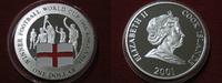 1 Dollar 2001 Cook Islands Fussballweltmeister England 1966 Silber Proo... 24,95 EUR
