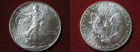 1 Dollar 1994 USA 1 Dollar Silver Eagle. 1 Unze Feinsilber unc. prägefr... 19,95 EUR