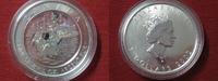 5 Dollars 2002 Kanada Kanada Maple Leaf 2002 Loonie Hologram. 1 Unze Fe... 39,95 EUR  zzgl. 3,95 EUR Versand