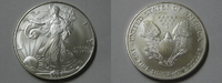 1 Dollar 2005 USA USA Silver Eagle 2005 1 Unze Silber. BU unc.  21,90 EUR