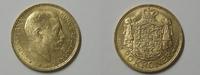 20 Kroner 1915 Dänemark 20 Kroner 1915 Gold vz-Stgl.  299,95 EUR