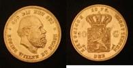 10 Gulden 1875 Niederlande 10 Gulden 1875 Willen III. vz  229,00 EUR