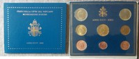 3,88 Euro 2002 Vatikan Vatikan KMS 2002 Johannes Paul II. Originalblist... 299,00 EUR