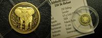 Somalia 250 Shillings 2004 Proof Somalia Elephant 250 Shillings 2004 Gold 49,95 EUR  plus 4,95 EUR verzending