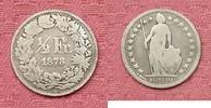 1/2 Franken 1878 Schweiz 1/2 Franken 1878.Seltenes Jahr. s-ss  39,95 EUR  zzgl. 3,95 EUR Versand