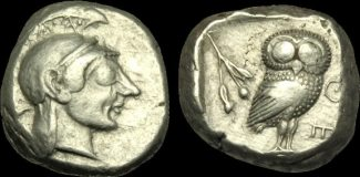 GREEK - CENTRAL Tetradrachm 500-480BC  GR-...