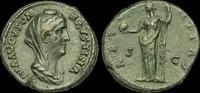 ROMAN IMPERIAL OR-BDWF - DIVA FAUSTINA I AE As, ca.141-6AD.   154,60 EUR  zzgl. 17,84 EUR Versand