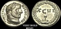ROMAN IMPERIAL Argenteus ca.293-305AD  LT-JKFT - CONSTANTIUS I CAESAR AR... 1280,18 EUR kostenloser Versand