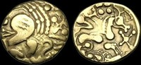 CELTIC GAUL CE-DDPD - NORTH WEST GAUL, Aulerci Eburovices, Gold Hemis... 727,84 EUR  zzgl. 16,80 EUR Versand