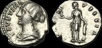 ROMAN IMPERIAL TI-KQDW - FAUSTINA II - AR Denarius, ca.147-61AD.     ... 373,97 EUR  zzgl. 16,75 EUR Versand