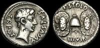 ROMAN IMPERIAL RE-PTFU - AUGUSTUS - Moneyer P. Licinius Stolo, AR Den... 945,44 EUR  zzgl. 17,84 EUR Versand
