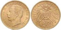 20 Mark Gold 1914  G Baden Friedrich II. 1907-1918. Vorzüglich +  465,00 EUR