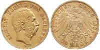 20 Mark Gold 1894  E Sachsen Albert 1873-1902. Sehr schön - vorzüglich  435,00 EUR