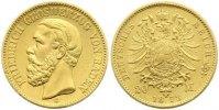 20 Mark Gold 1873  G Baden Friedrich I. 1856-1907. Sehr schön - vorzügl... 465,00 EUR