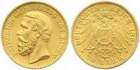 20 Mark Gold 1894  G Baden Friedrich I. 1856-1907. Sehr schön - vorzügl... 445,00 EUR