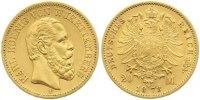 20 Mark Gold 1873  F Württemberg Karl 1864-1891. Sehr schön - vorzüglic... 435,00 EUR