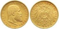 20 Mark Gold 1897  F Württemberg Wilhelm II. 1891-1918. Sehr schön - vo... 395,00 EUR