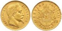 20 Francs Gold 1869  BB Frankreich Napoleon III. 1852-1870. Prägebeding... 260,00 EUR