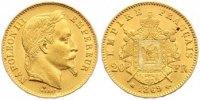 20 Francs Gold 1869  BB Frankreich Napoleon III. 1852-1870. Sehr schön ... 260,00 EUR