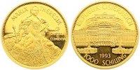 1000 Schilling Gold 1993 Österreich Zweite Republik nach 1945. Polierte... 675,00 EUR