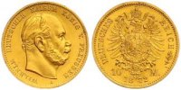 10 Mark Gold 1872  A Preußen Wilhelm I. 1861-1888. Fast Stempelglanz  270,00 EUR